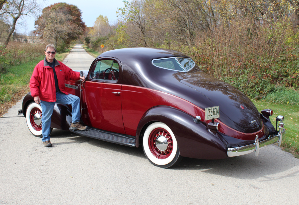 Terry Frye and his Studebaker