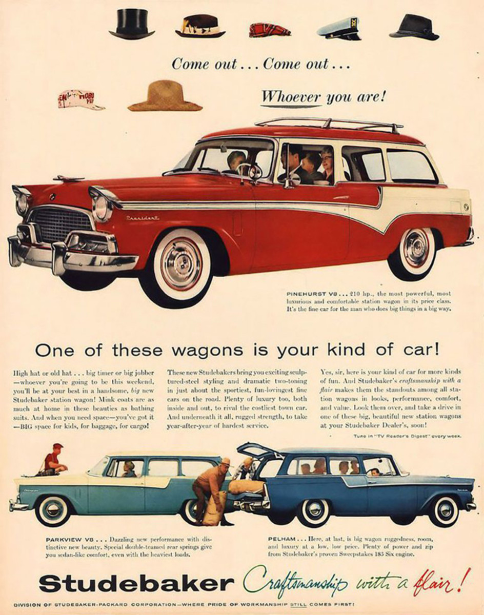 Studebaker advertised the broad appeal of their wagon.
