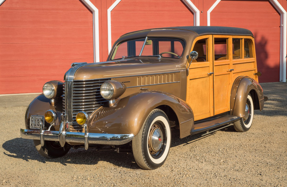 In the 1930s, station wagons morphed from simple cargo and people haulers into stylish symbols of success. This 1938 Pontiac wagon, which belongs to George Gereg of Connecticut, was beautifully restored nearly four decades ago and still looks great today.