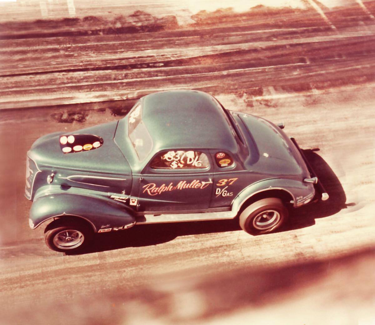 The homebuilt 1937 Chevrolet D/Gas coupe