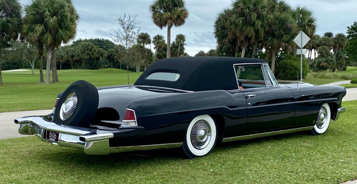 1956 Continental Derham Victoria Coupé 4