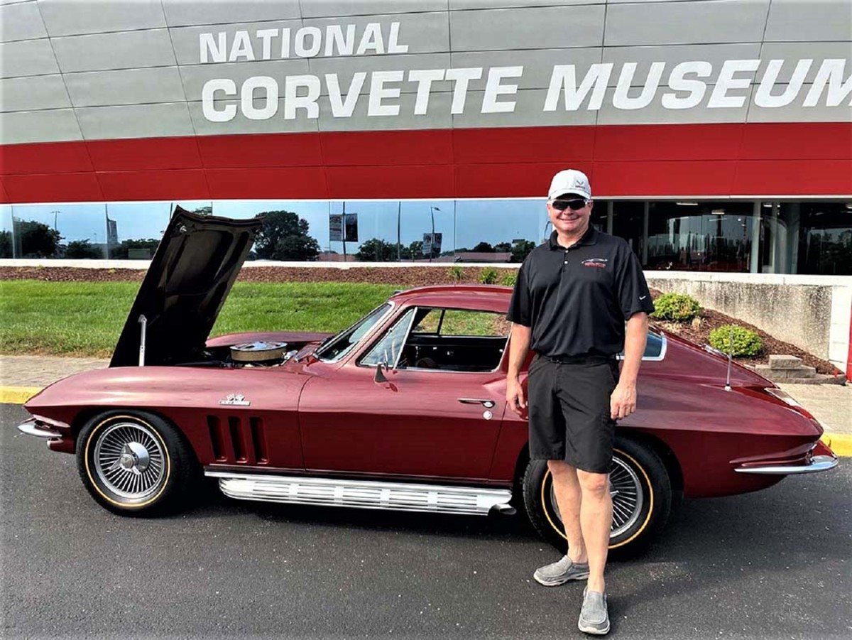 A '66 Vette owned by Corvette Assembly Plant manager is going on display at the National Corvette Museum next door to the plant in Bowling Green, Ken.