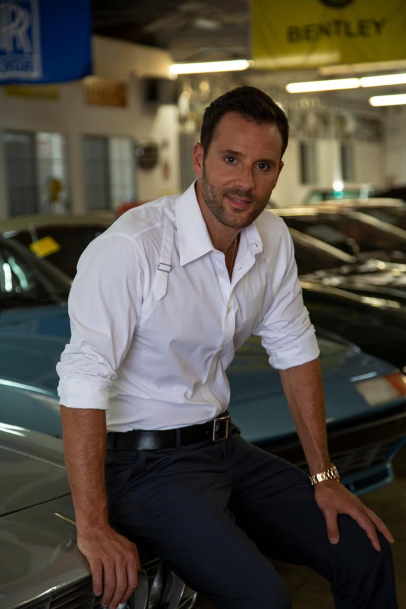 Alex Manos of Beverly Hills Car Club