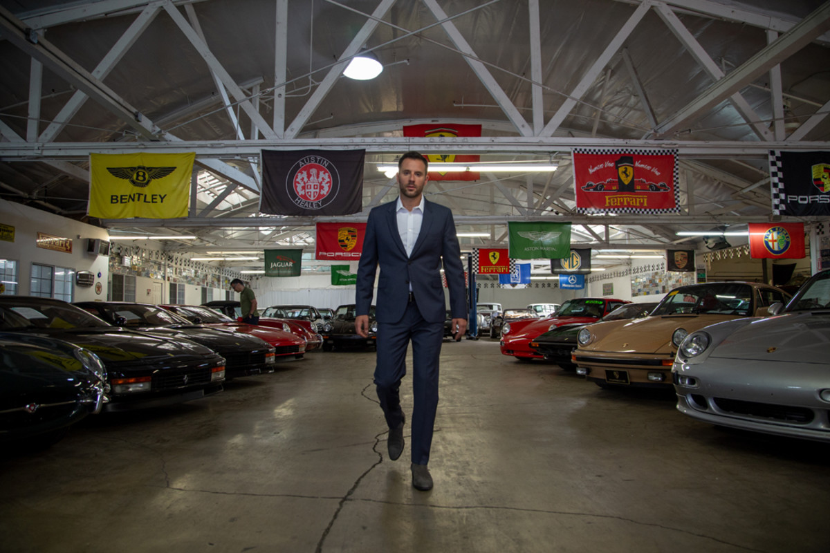 Beverly Hills Car Club always has at least 350 cars at the dealership ready to be sold.