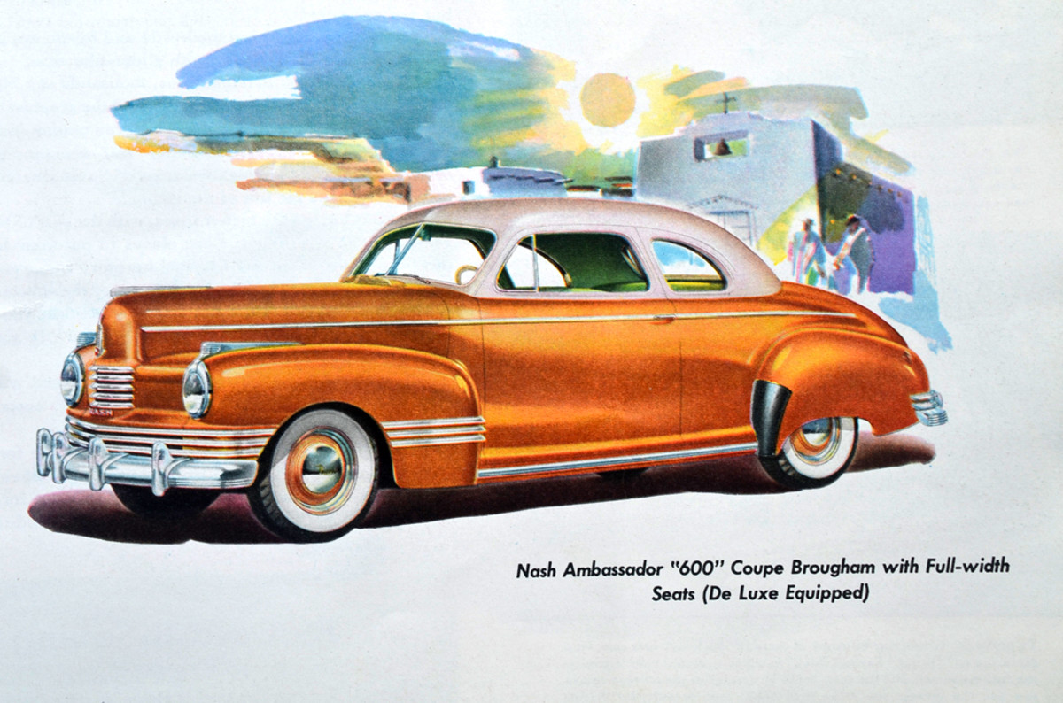 In the late 1940s, Nash offered prewar styling to buy time to build its fresh and rotund unibody design that would mark its last years of independence.