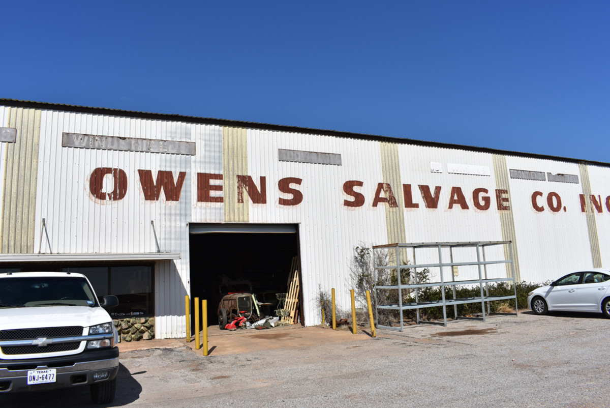 "Established in 1964 and operated by Bob ""Flat-top"" Owens, son of the founder, Owens Salvage Co. Inc. has a reputation of treating customers well and having an interesting selection of cars and parts."