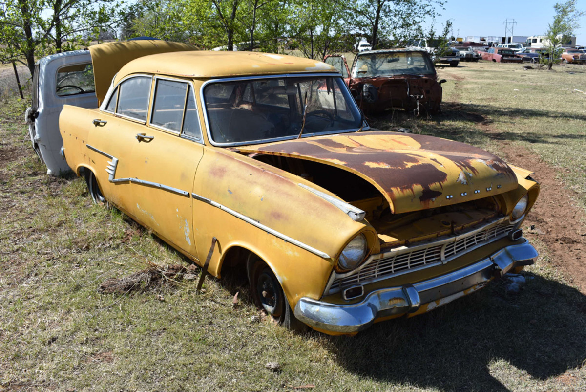 We could not remember ever finding a 1960 Ford Taunus 17M sedan as complete as the one spotted at Owens Salvage.
