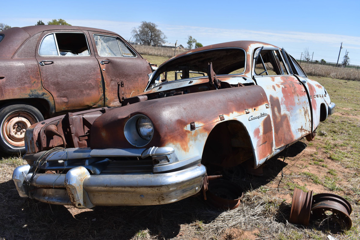 "We have heard some collectors refer to this era of Lincoln as ""V-8-power water buffalos."" Regardless of whether you like them, when is the last time you saw a 1950 Cosmopolitan in a parts yard?"