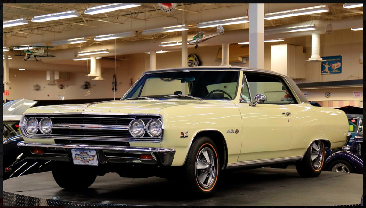 A 375-hp 1969 Chevelle SS 396 to be offered from the Muscle Car City Museum. All vehicles in the museum are selling at no reserve.