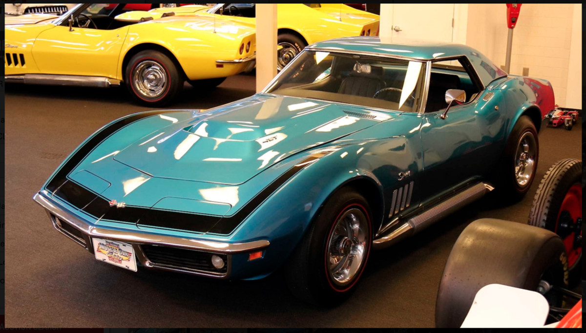 1969 Corvette ZL1 is one of the dozens of Corvettes in Muscle Car City Museum to be offered at no reserve.