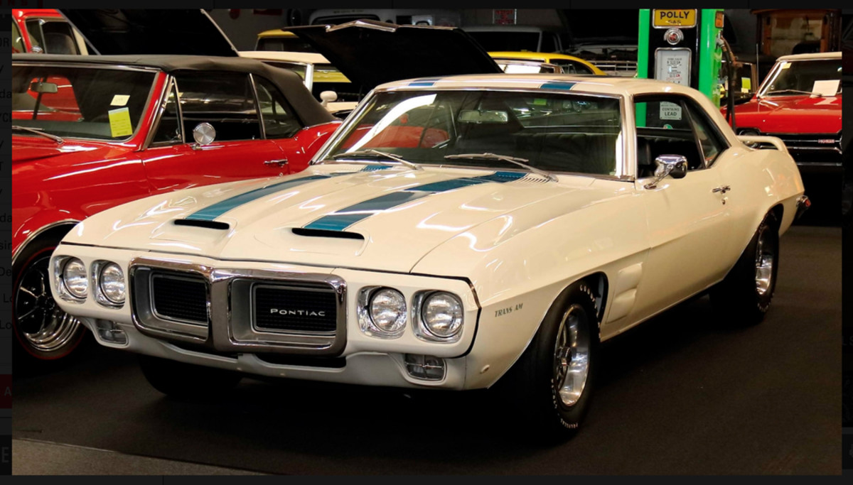 There's a handful of Poncho muscle cars in the collection, this first-year 1969 Trans Am among them.