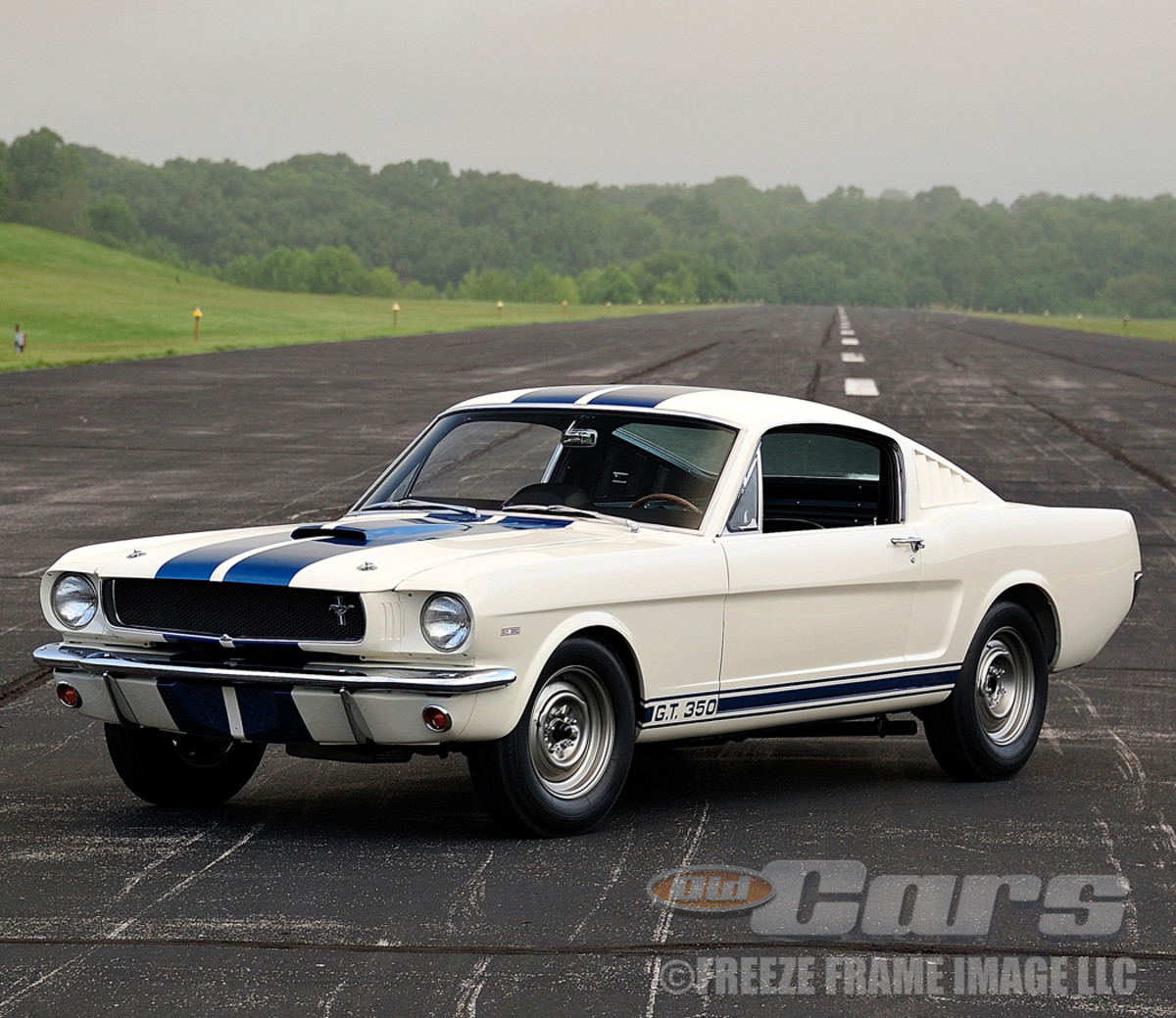 The historic first Shelby Mustang was re-restored as it was originally built — first as a 1965 Hi-Po fastback, then converted into a GT350 per Shelby American in 1964.