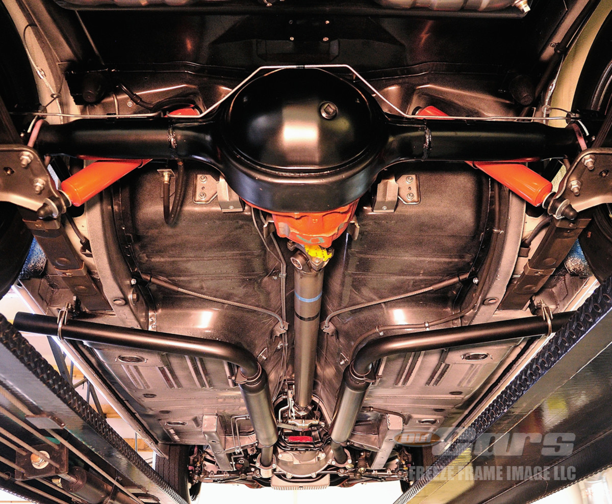 AFTER SHELBY GT350 - Shelby GT350 003 received side-exiting exhaust as well as suspension upgrades to improve handling.