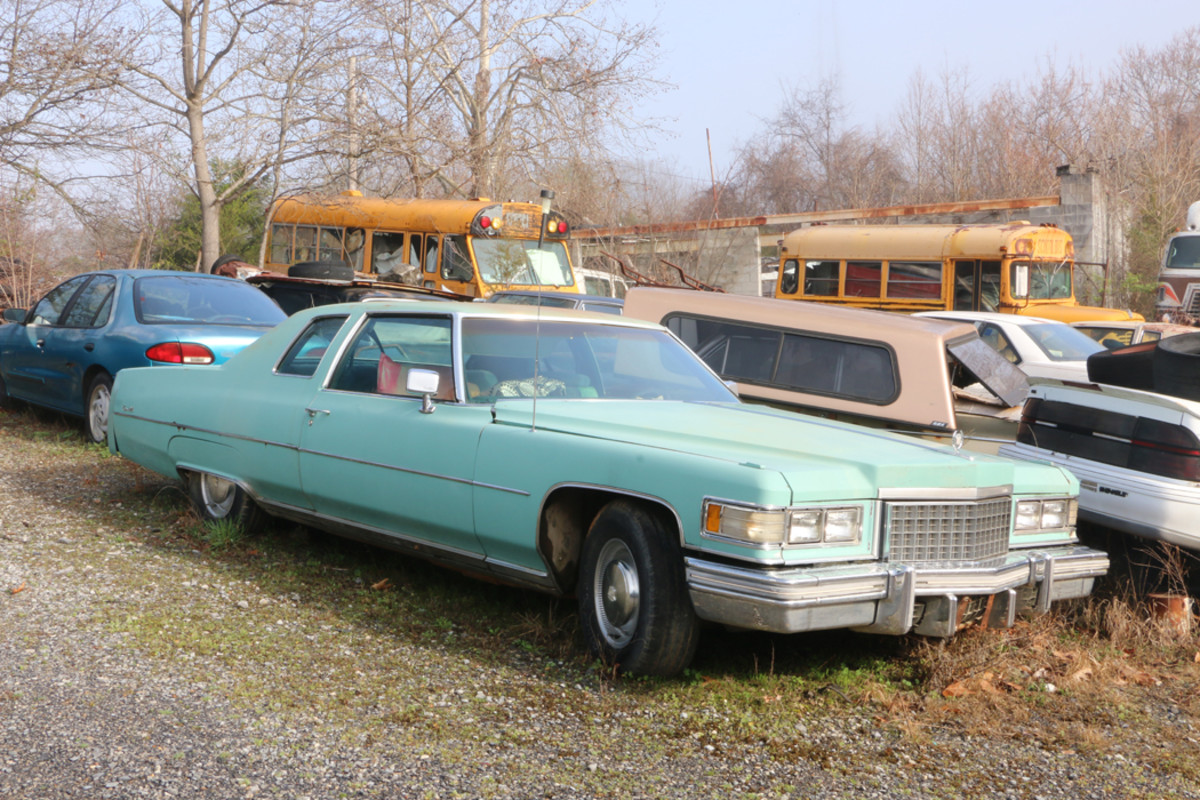 Cadillac's Coupe deVille in 1976 had a lot of standard luxury features ranging from Automatic Climate Control to Power Door Locks. This example has original paint and is a complete car; no parts may be removed from it.