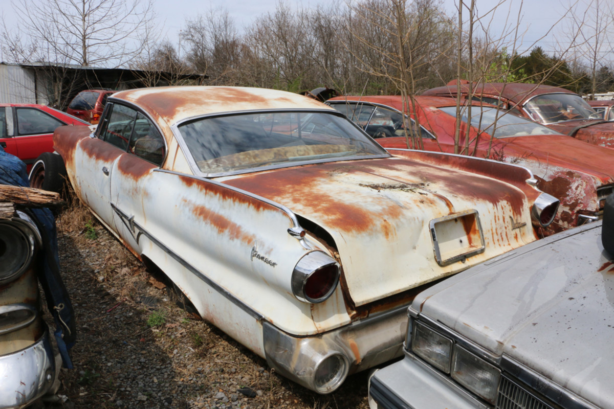 The Pioneer was the middle trim level for the 1960 Dodge Dart. This two-door hardtop has a tinted windshield and push-button gear selector. Ronnie mentioned he has  another really good trunk lid for it.