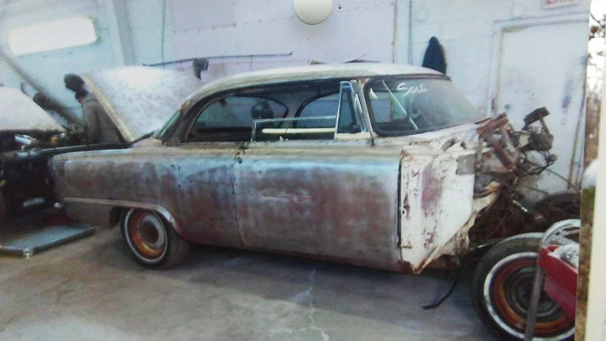 Once stripped to bare metal, the Dodge proved to be solid and in need of rust repair in only a few places.