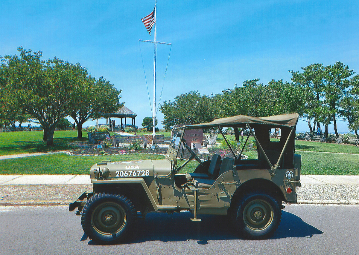 This Ford GPW jeep has been in just two hands since 1948, when it was put out of military service
