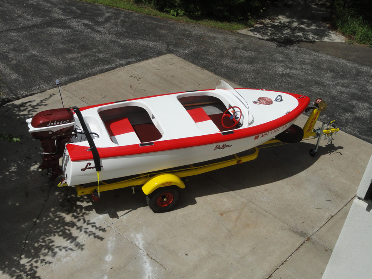 As well as the windshield on the 1956 Lasrson Pla-Boy boat I restored.
