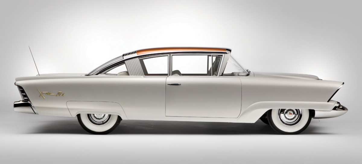He also made the windshield and back glass on the Mercury XM-800 concept car.