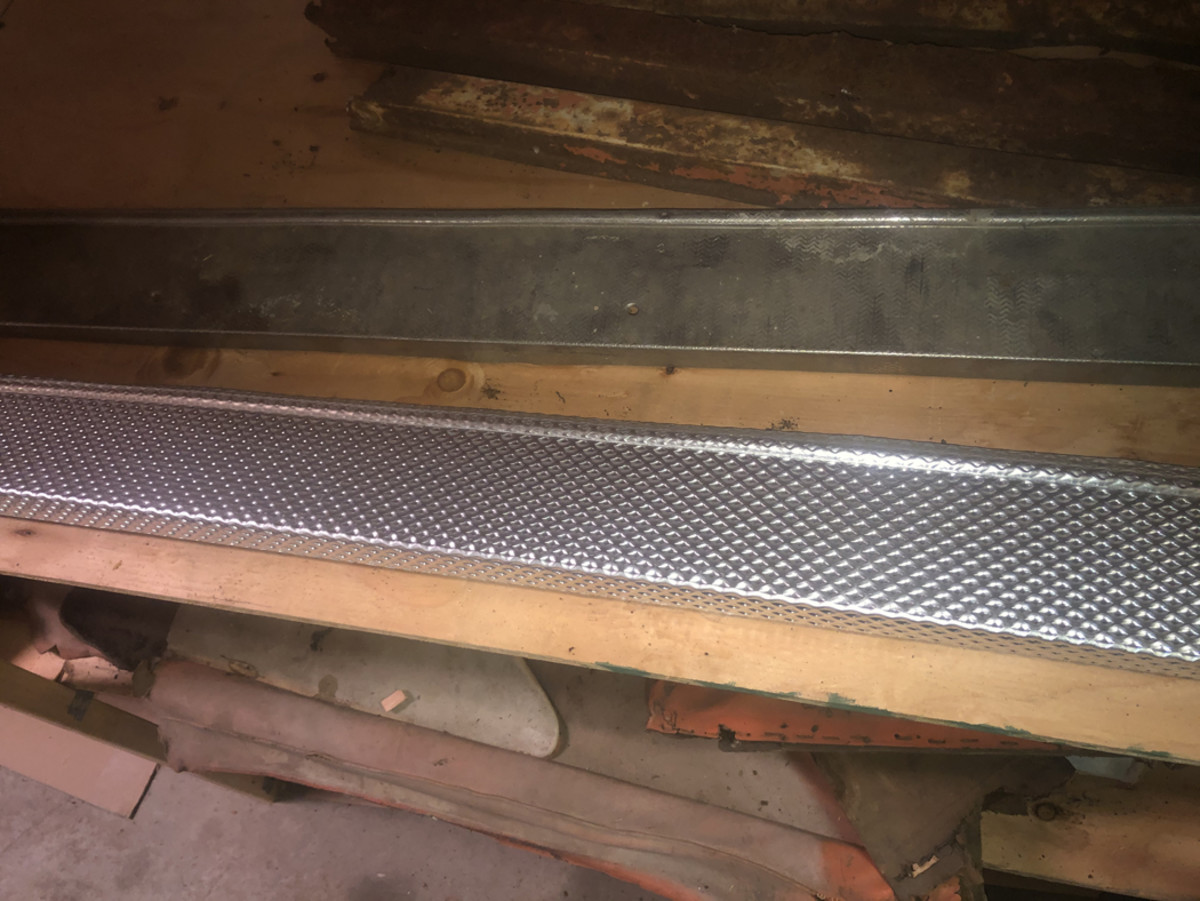 New door sill plates were fabricated.