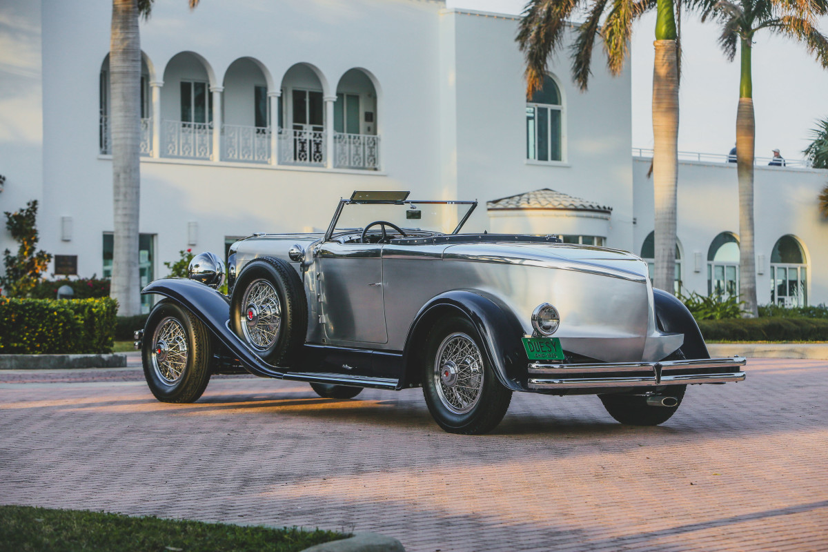 RM Sotheby's will offer this Duesenberg Model J with Murphy Torpedo convertible coupe coachwork at its 2021 Amelia Island sale on May 22.