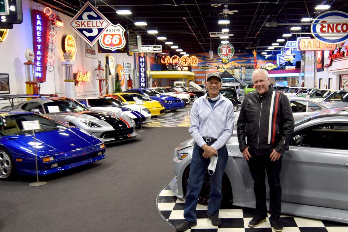 Larry Winkler with Craig Jackson