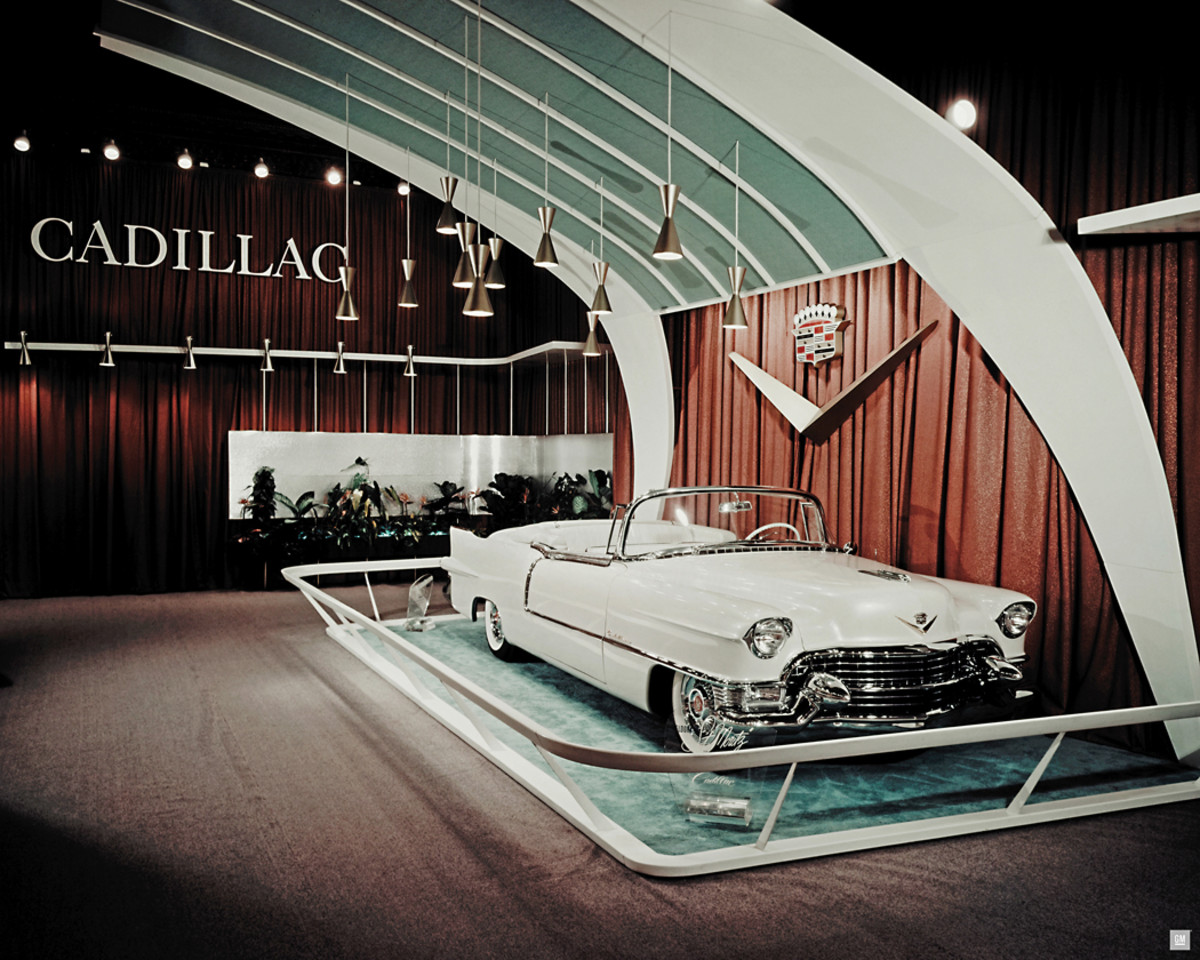 The St. Moritz as it was seen at the General Motors' Motorama show in 1955.