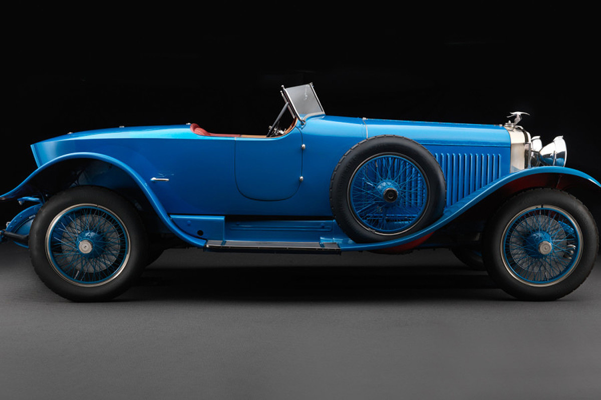 1928 Hispano-Suiza H6C Skiff Kellner