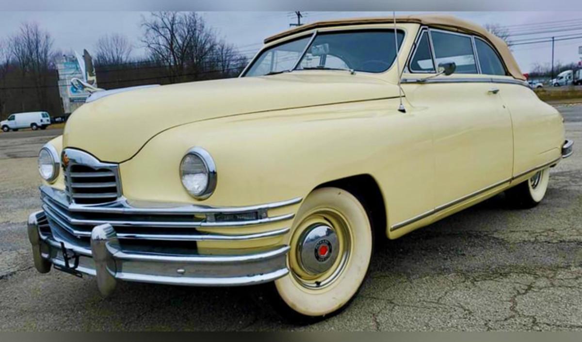1949 Packard Super 8 Victoria Convertible