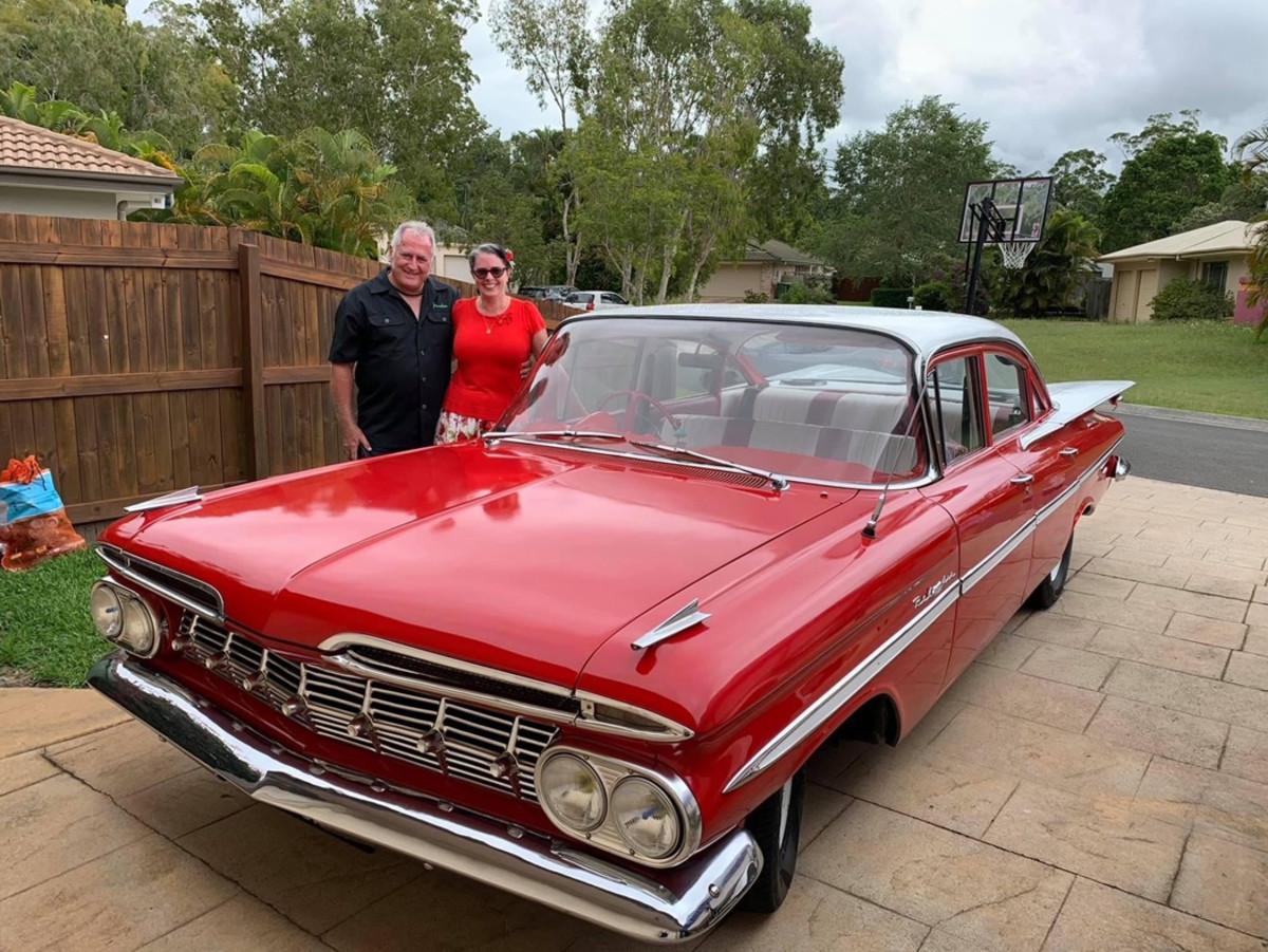 1958 Australian Chevy Bel Air1