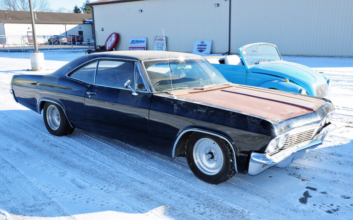 1965 Chevrolet Impala 2-dr HT. Condition #4, sold for $9,500.