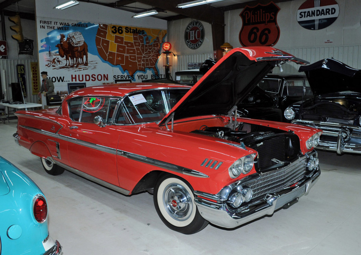 1958 Chevrolet Impala 2-dr HT, Condition #2, sold for $62,000