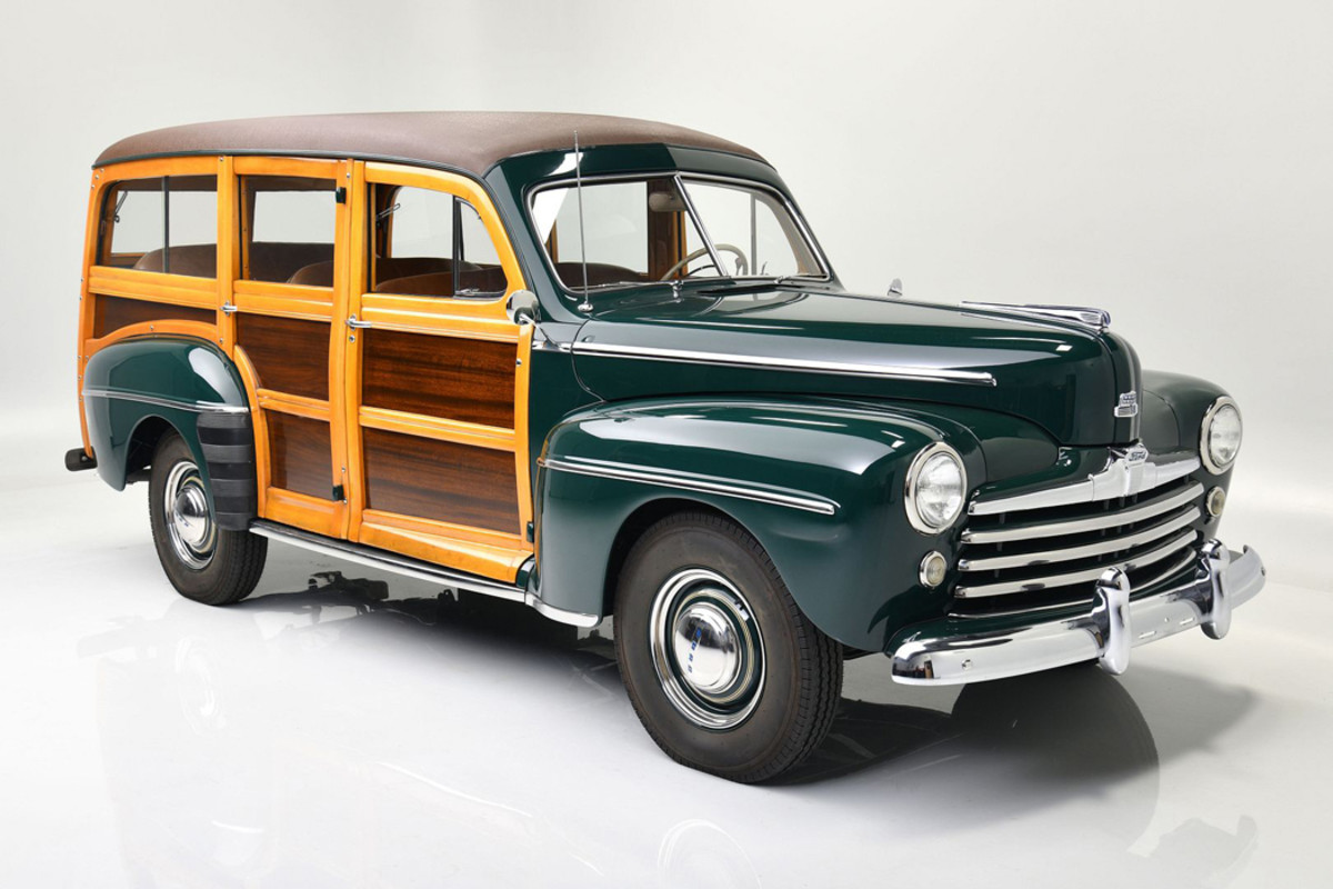 1947 custom Woody modified by Roush