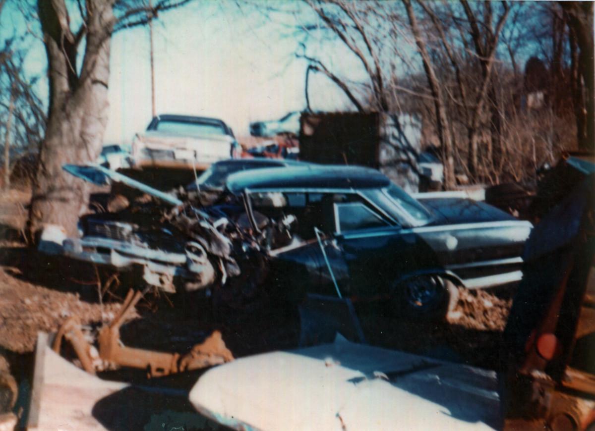 1965 Nova SS crashed