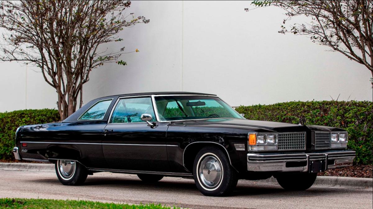 1976 Oldsmobile Ninety-Eight Regency coupe
