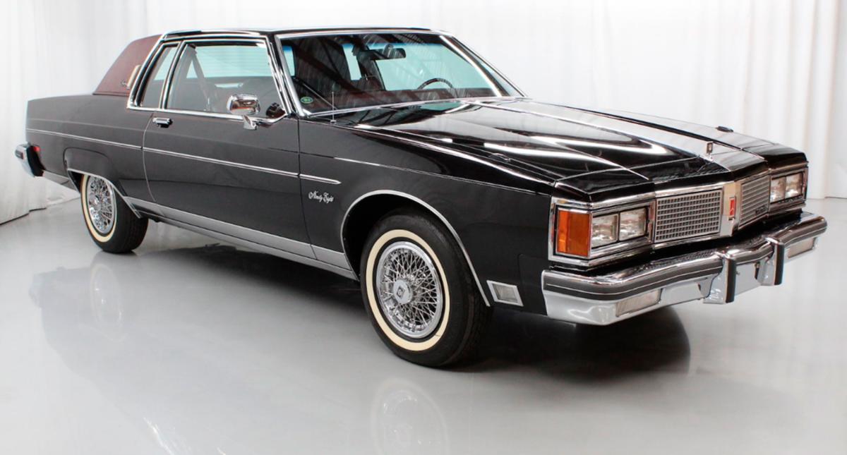 1984 Oldsmobile Ninety-Eight Regency coupe