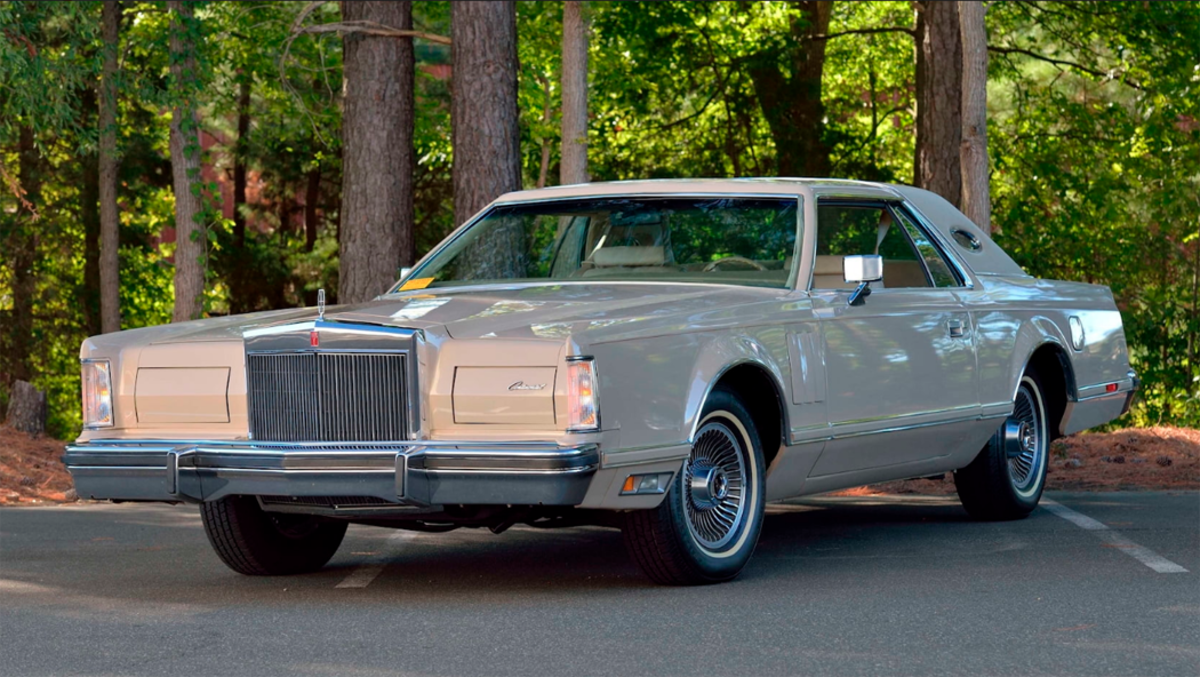 1978 Continental Mark V coupe Cartier edition