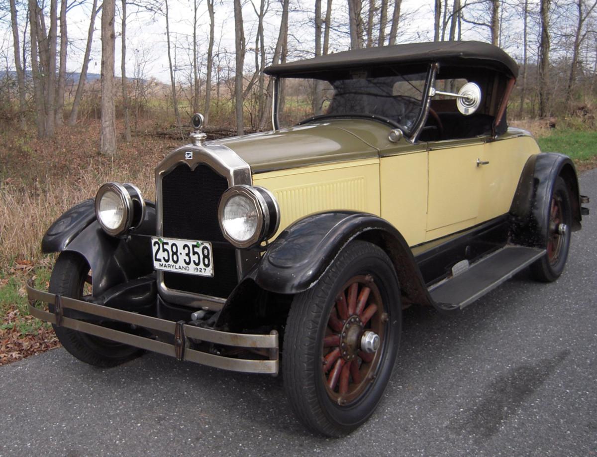 """Unrestored 1927 Buick roadster named """"Homer"""""""