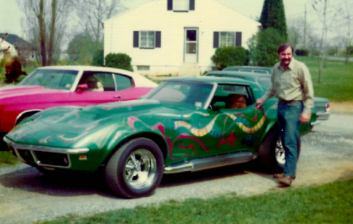 The Corvette in its heyday.