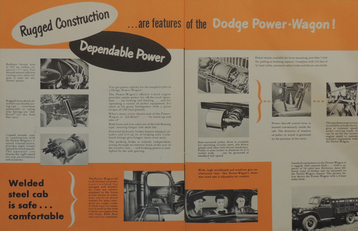 Rugged and dependable was the Dodge's claim to fame.