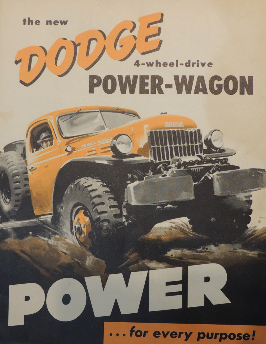 Cover from a Dodge brochure