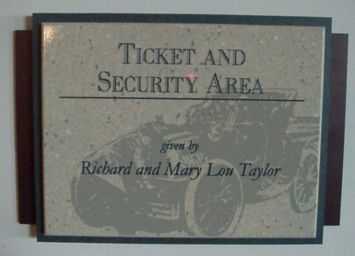 The Taylor's generosity and support are recognized throughout the Museum