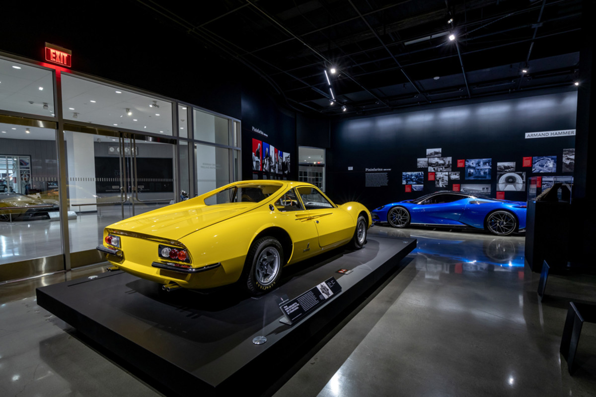 "Nine decades of Pininfarina will be represented in the""Aesthetic of Motoring: 90 Years of Pininfarina"" exhibition"