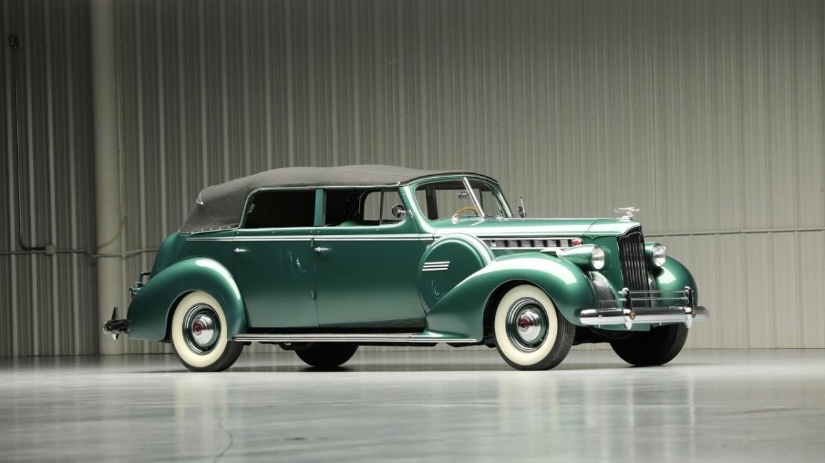 thumbnail_2- 1940 Packard Super 8 Model 1807 Convertible Sedan