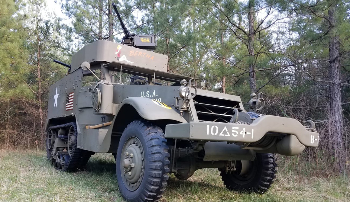 Receiving the most votes in the Armor and/or Tracked Category, Keith Spillman's 1941 Autocar M2A1 Half-Track also received the top votes overall in the 2020 Virtual Online Military Vehicle Show. It is one of six vehicles of the Class of 2021 to be inducted into the Military Vehicle Hall of Fame.