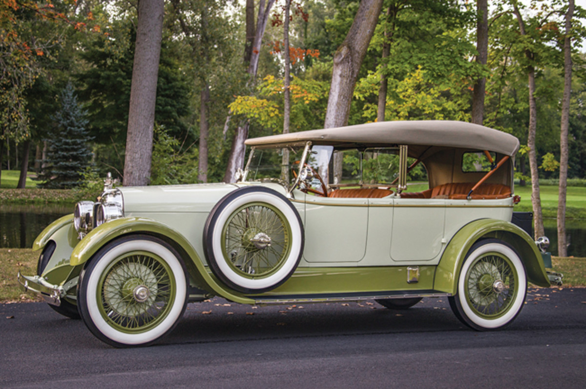1923 Duesenberg Model A Sport Touring