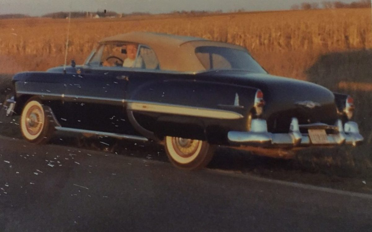 Here's how I imagine the scene the evening Kenny was stopped by the Wisconsin Highway Patrolman in his 1953 Bel Air.