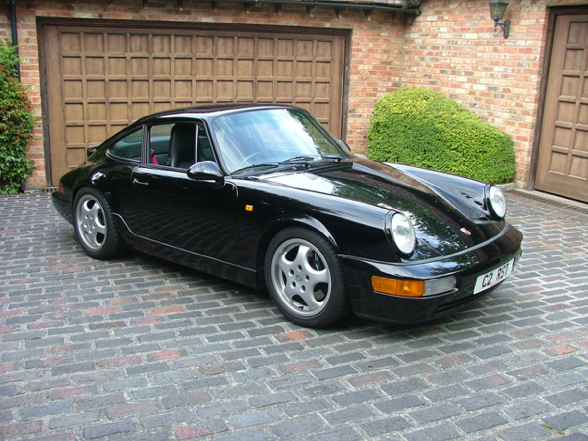 The Porsche 911 (964) RS Touring is one of six UK right-hand drive models out of only 11 cars built.