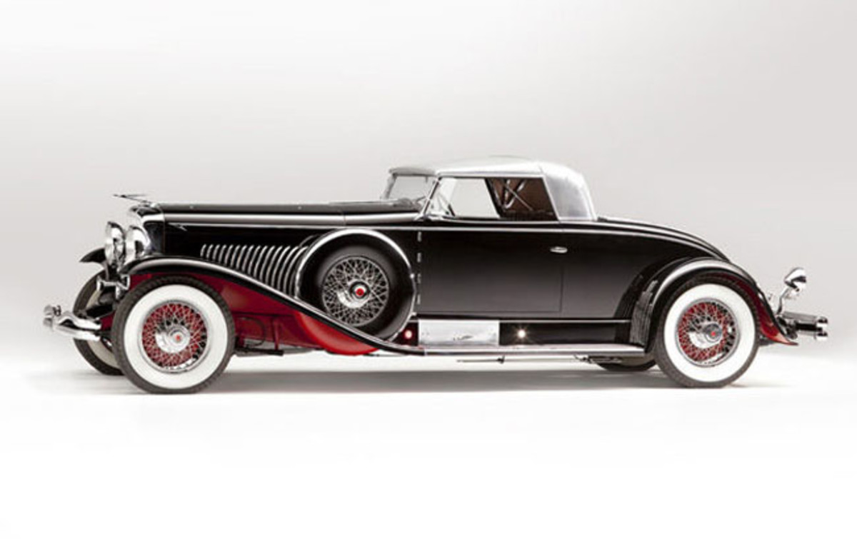1931 Duesenberg Model J Long-Wheelbase Coupe. Originally Owned by Captain George Whittell Jr. Coachwork by Walter M. Murphy Co. SOLD $10,340,000.