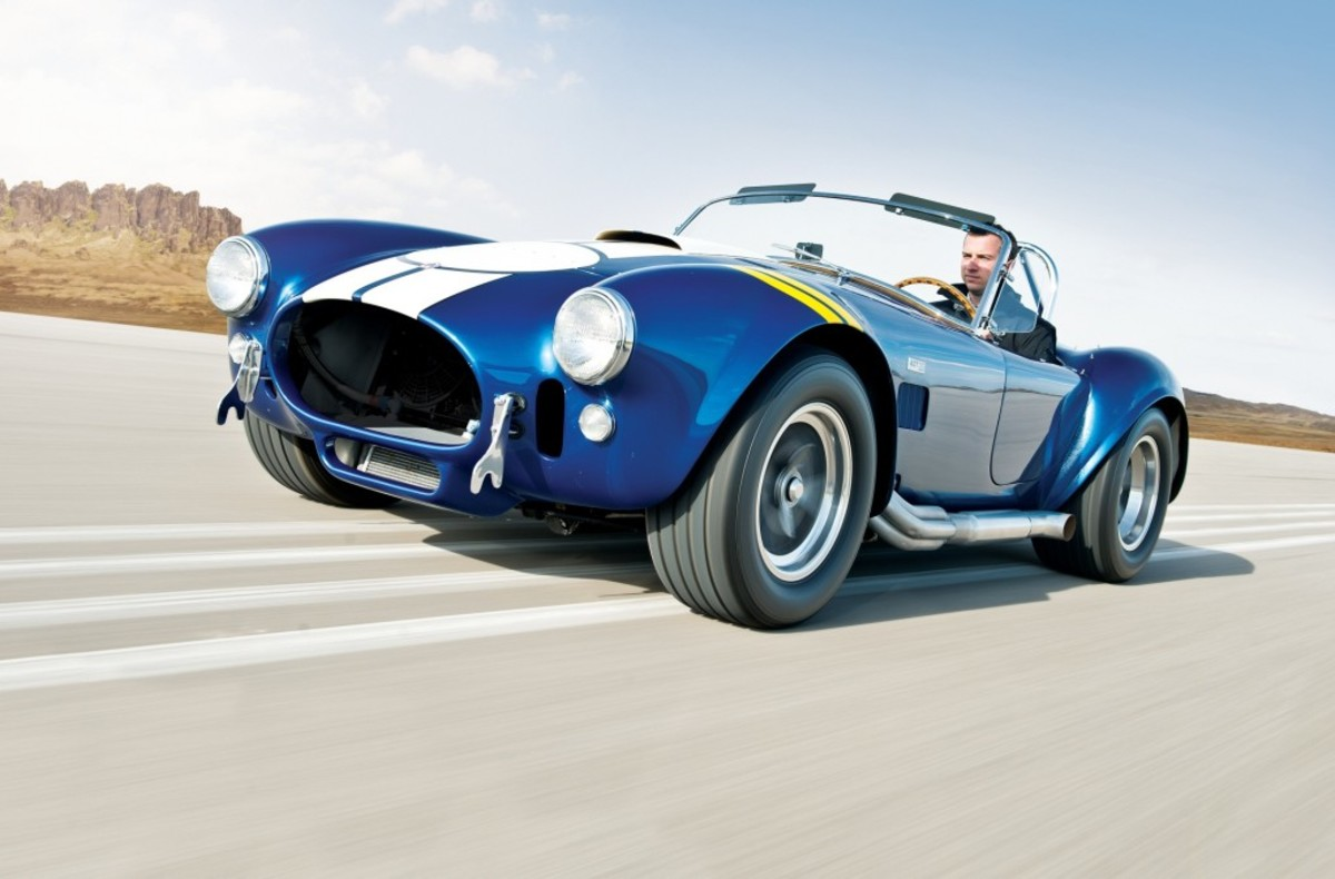 1967 Shelby 427 'Semi-Competition' Cobra, CSX 3045 (Photo by Darin Schnabel © 2012 courtesy RM Auctions)